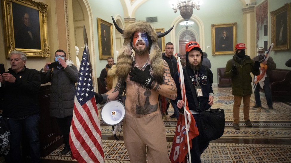 Who Are the Terrorists Behind the US Capitol Riots?