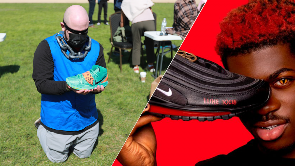 The Dark Side of Rapper Lil Nas X's Unofficial 'Satan' Nikes